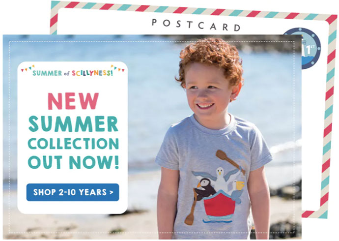 Frugi Sommerkollektion 2019 – jetzt erhältlich!